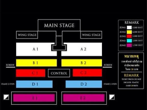 bangkok seating plan